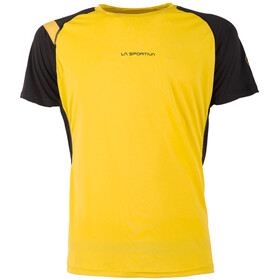La Sportiva Motion t-shirt Heren, yellow/black
